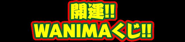 開運!! WANIMAくじ!!